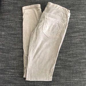 Free People grey corduroy pants